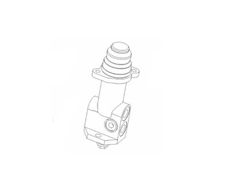 PDF06 Single Circuit Hydraulic Brake Valve